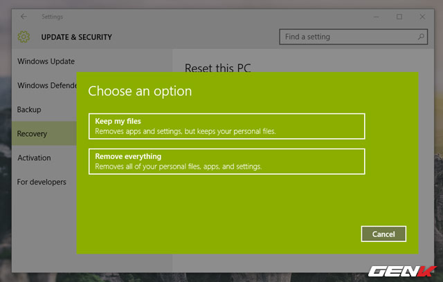 Sau khi lựa chọn xong, bạn sẽ được đưa đến một màn hình khác với danh sách các phần mềm mà bạn đã cài đặt trên Windows, tất cả sẽ được gỡ bỏ
