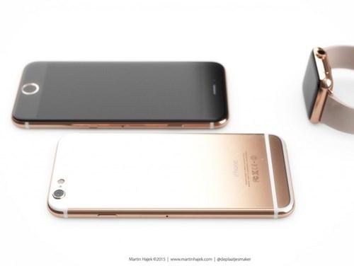 iPhone mới sẽ có chất liệu tương tự như Apple Watch Gold Edition?