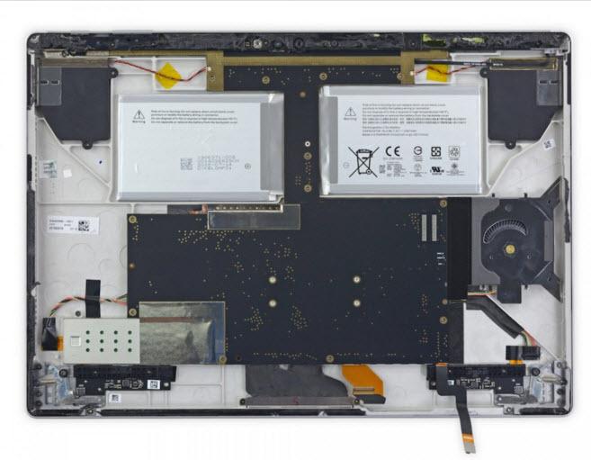 Microsoft Surface Book sở hữu thiết kế không thể sửa chữa
