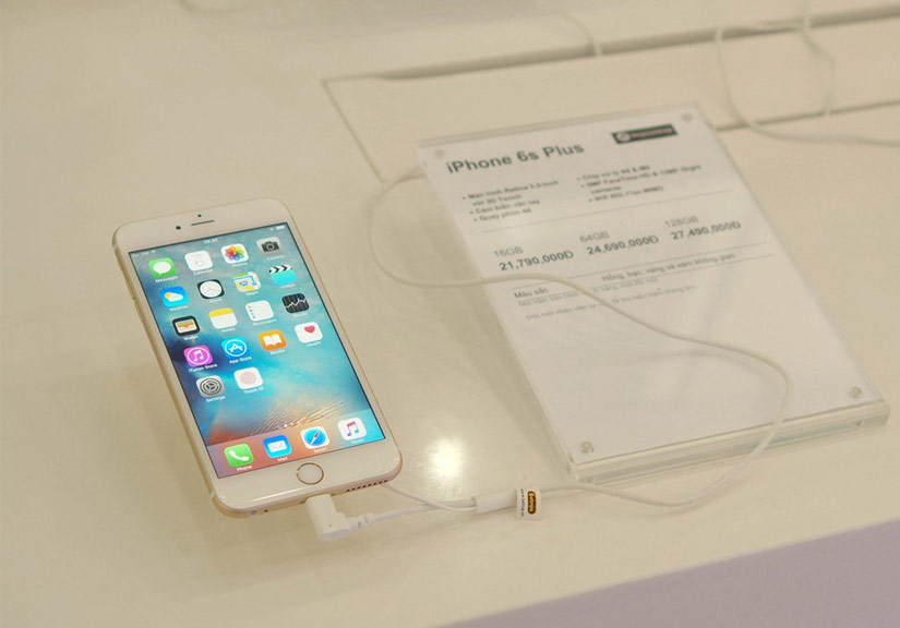 iPhone mới không có biến động nhiều về giá trong thời gian dài. Ảnh: Thành Duy