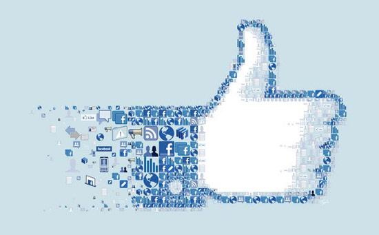 """Nút """"Like"""" không chỉ là công cụ tương tác, nó thay đổi toàn bộ cách Facebook hoạt động. Ảnh: Charis Tsevis."""