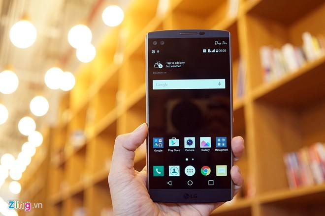 LG V10 được hướng đến những người dùng đặc biệt.