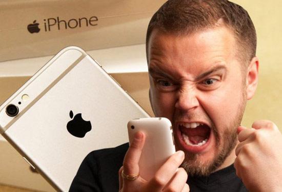 Người dùng có thể giận dữ vì mẫu iPhone 7.