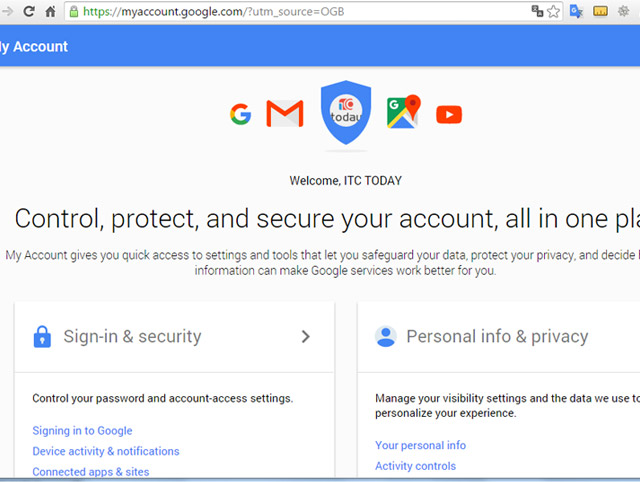 """Vô hiệu hóa ngay tùy chọn """"Allow Less Secure Apps"""""""