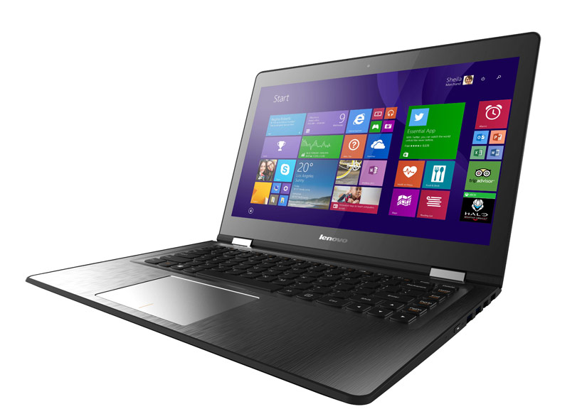 Lenovo IdeaPad 500 có khả năng nhận diện khuôn mặt người dùng.