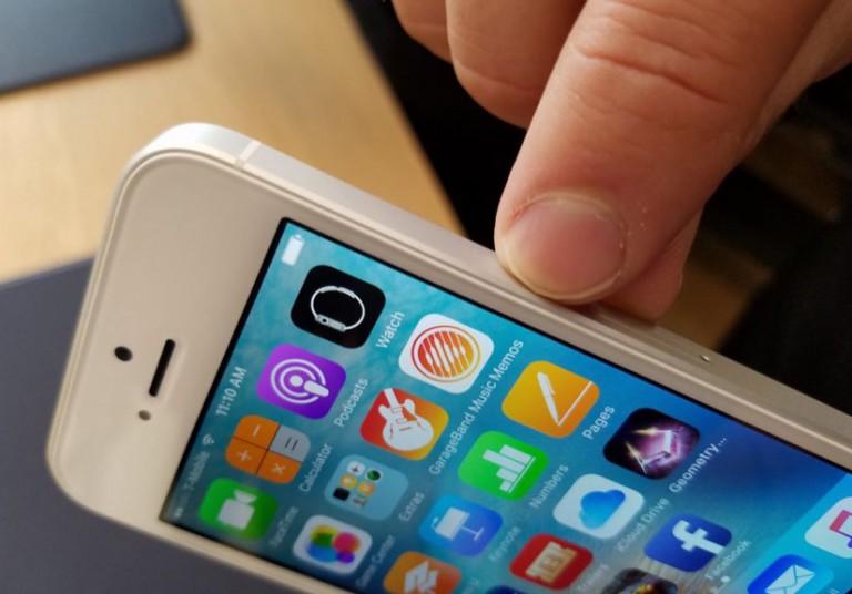 Viền cắt kim cương trên iPhone 5 và iPhone 5s là một trong những thiết kế sáng tạo và đẹp mắt nhất của Apple