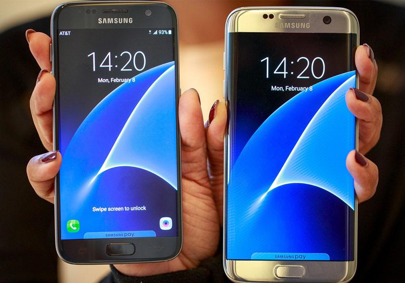 Bộ đôi smartphone mới của Samsung đang có doanh số bán ra hết sức ấn tượng.
