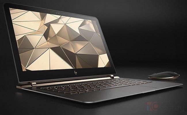 Chiếc laptop mỏng nhất thế giới Spectre.