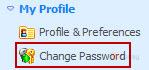Thay đổi Password Admin