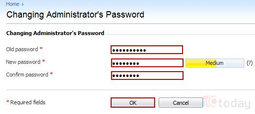 Thay đổi và reset password Admin của Plesk khi quên mật khẩu