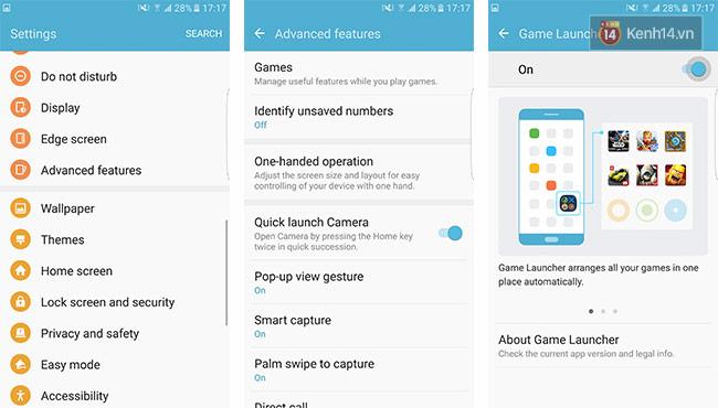 Game Launcher – tối ưu hóa trải nghiệm game trên Galaxy