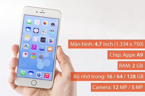 Với hơn 1,5 triệu ứng dụng hiện có trên iOS App Store, iPhone 6s rõ ràng là một lựa chọn tốt cho những ai muốn mua smartphone để tận hưởng sự đa dạng, phong phú và hấp dẫn của các ứng dụng di động
