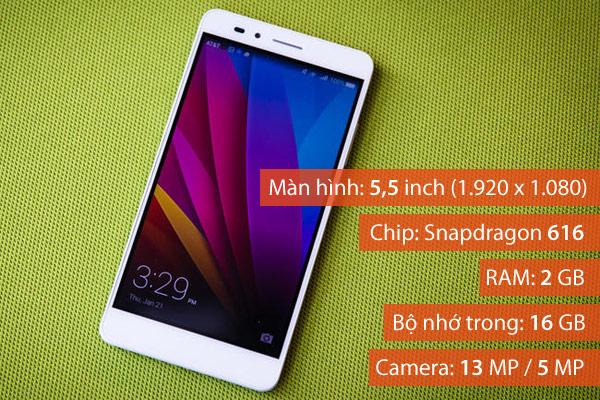 Huawei Honor 5X đã mang đến cho người dùng một thiết kế kim loại ấn tượng, màn hình 5,5 inch độ phân giải Full HD, cảm biến vân tay nhanh nhạy và camera 5 MP/ 13 MP cho chất lượng ảnh chụp tốt