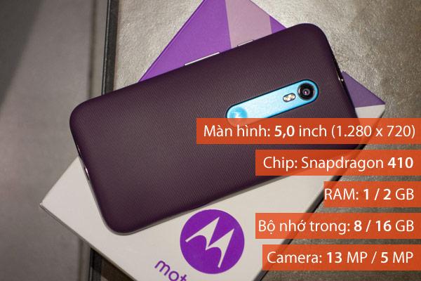 Moto G là một lựa chọn tốt nếu bạn đang tìm mua smartphone dành cho trẻ em. Theo đó, máy có mức giá thấp trong khi vẫn đảm bảo một trải nghiệm tương đối và có thể giúp kết nối thuận tiện.