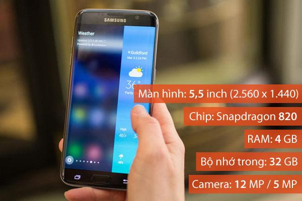 Cameradual-pixel có trên chiếc Samsung Galaxy S7 edge biến thiết bị này thành một trong những chiếc điện thoại chụp hình tốt nhất hiện có trên thị trường, mang đến cho người dùng khả năng lấy nét siêu nhanh và chụp ảnh thiếu sáng chấtlượng vượt trội.