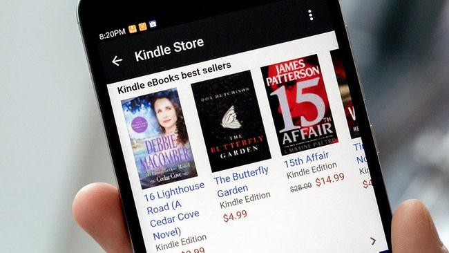Ứng dụng đọc eBook ngoại tuyến tốt nhất: Amazon Kindle