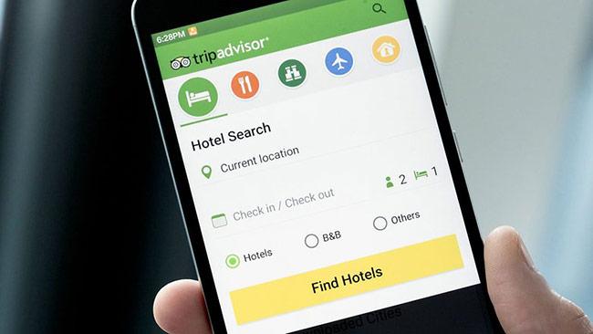 """Ứng dụng hỗ trợ """"vi vu"""" ngoại tuyến tốt nhất: TripAdvisor Hotels Flights"""