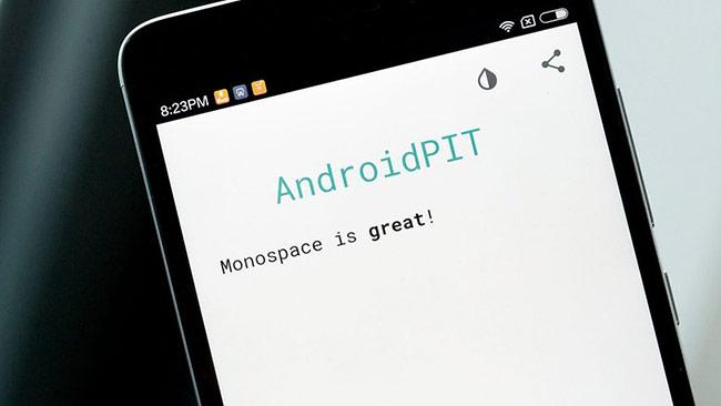 Ứng dụng ghi chép ngoại tuyến tốt nhất: Monospace Writer BETA