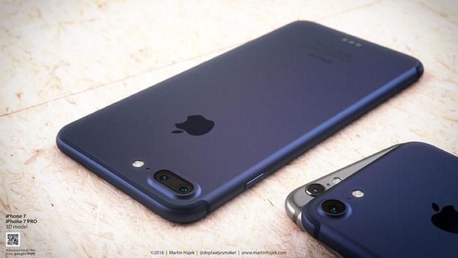 Trên iPhone 7 là camera đơn nhưng nhìn to hơn, còn iPhone 7 Plus là cụm camera kép.