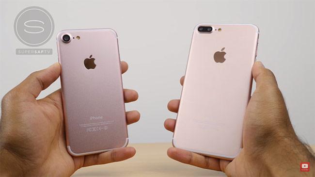 Khác biệt duy nhất của iPhone 7 Plus với các tin đồn là mặt sau máy không trang bị cổng Smart Connector.