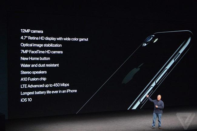 Những nâng cấp mới của iPhone 7 và 7 Plus.