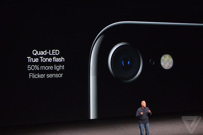 iPhone 7 có khả năng zoom quang học 2X mà không giảm chất lượng như zoom kỹ thuật số