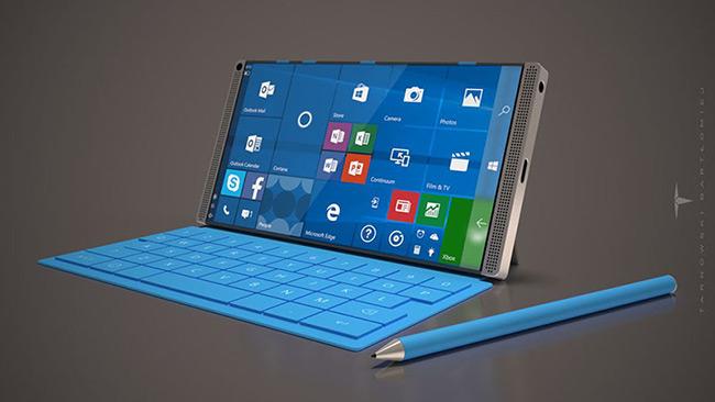 Bút Surface Pen đi kèm. Ảnh: Nokiapoweruser.