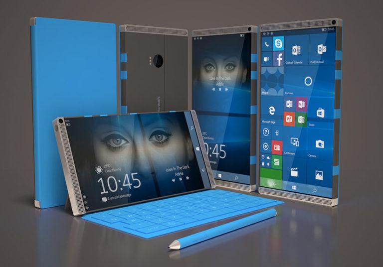 Surface Phone sẽ được Microsoft tung ra thị trường vào tháng 10. Ảnh: Nokiapoweruser.
