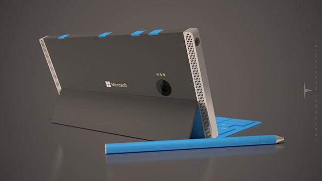 Bản concept của chiếc Microsoft Surface Phone. Ảnh: Nokiapoweruser.