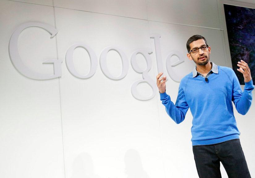 CEO Google Sundar Pichai dự kiến sẽ giới thiệu nhiều sản phẩm mới.