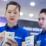 Note 7 sẽ bị dừng bán, dừng đổi trả để chờ quyết định tiếp theo từ Samsung. Ảnh: Thành Duy.