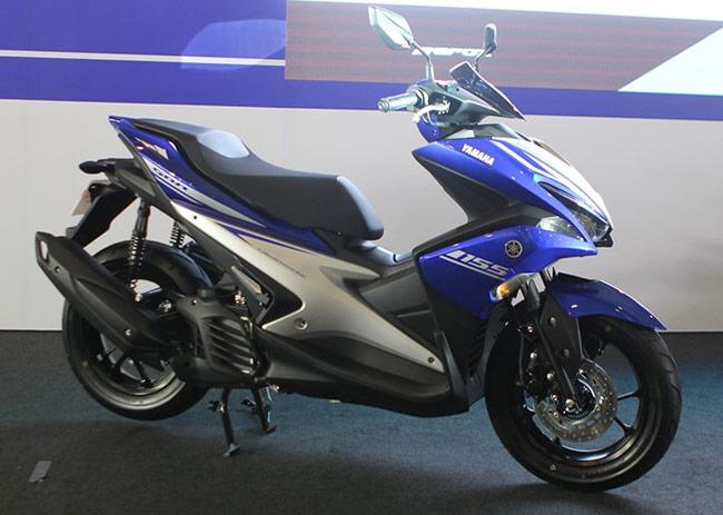 Yamaha NVX ra mắt tại đường đua Sepang, Malaysia