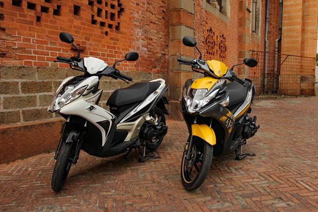 Doanh số của Yamaha Nouvo giảm sâu qua từng thế hệ