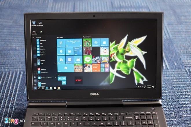 Dell Inspiron 15 Gaming 7000 series có 2 phiên bản màn hình 14 inch và 15,6 inch, độ phân giải từ Full HD đến 4K, dùng tấm nền IPS. Máy chạy hệ điều hành Windows 10 Home. Chip Intel core i7, RAM 8 GB, bộ nhớ trong 512 GB. Bản cao cấp nhất có RAM 32 GB, ROM 1 TB.