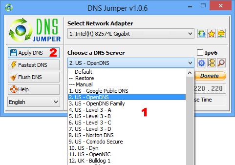 Làm thế nào để tìm ra máy chủ DNS nhanh nhất?