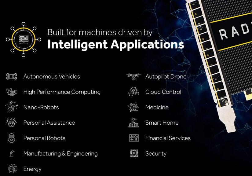 Những bộ vi xử lý GPU chuyên dụng cho công nghệ mới.