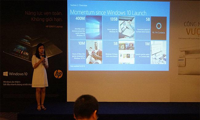 Dòng máy tính xách tay HP ENVY được tích hợp Windows 10 bản quyền