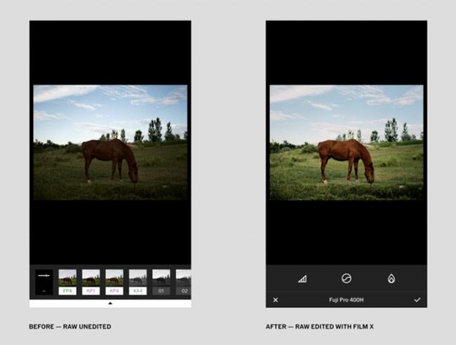 dùng phần mềm chỉnh sửa ảnh hoặc các filter trên Instagram
