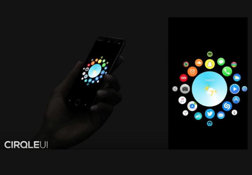 Ý tưởng iPhone 8 chạy iOS 11 phong cách Watch OS