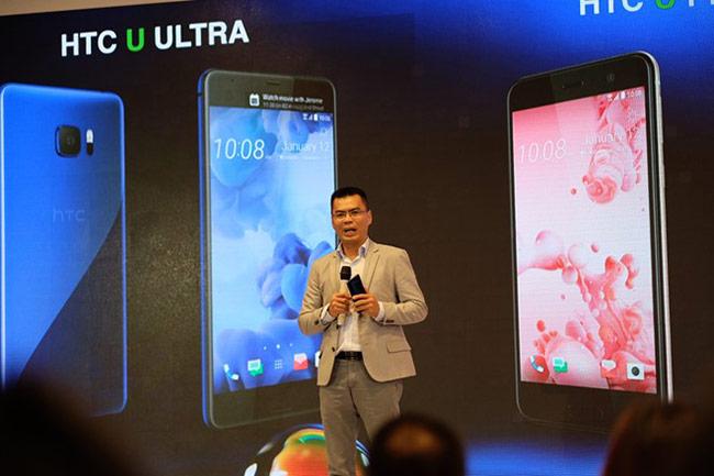 Ông Nguyễn Hồng Châu, Tổng Giám đốc HTC Việt Nam cho biết hãng vẫn sẽ định vị thương hiệu ở phân khúc cao cấp.