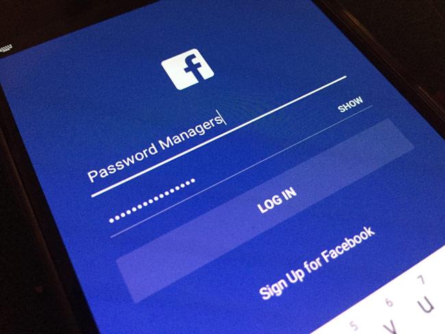Sử dụng trình quản lý mật khẩu để lưu mật khẩu các dịch vụ mạng