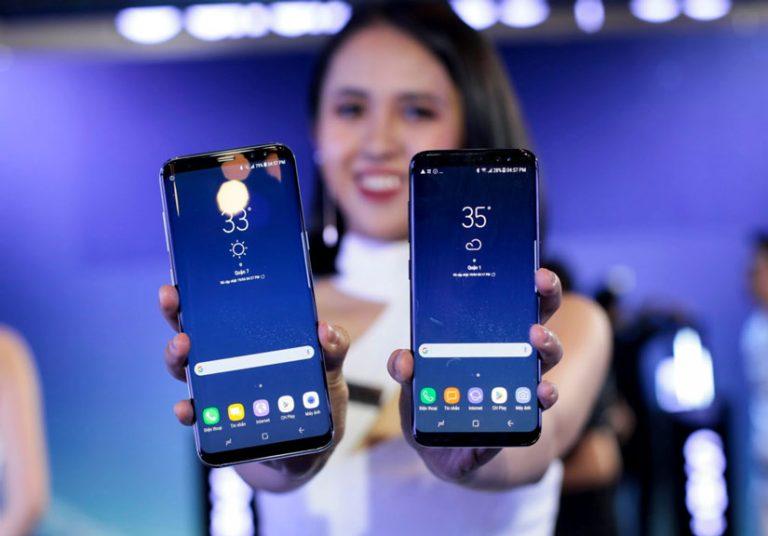 Ảnh thực tế Samsung Galaxy S8/S8+ và loạt phụ kiện hấp dẫn vừa về VN