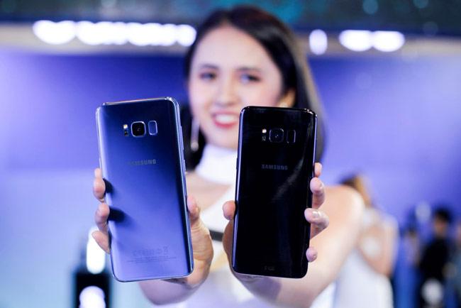 Samsung Galaxy S8/S8+ sẽ có 3 màu