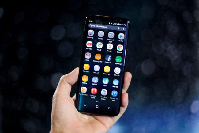 Galaxy S8 được cài sẵn Android 7.0