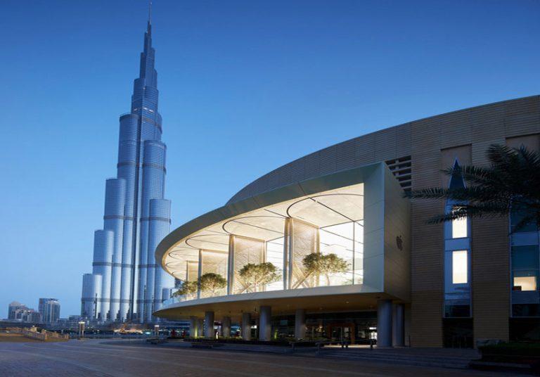 Cửa hàng Apple siêu hiện đại tại Dubai