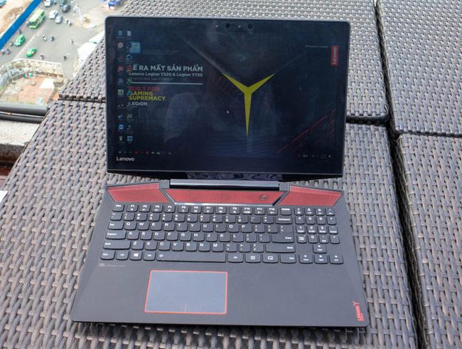 Legion Y720 là model cao cấp nhất của dòng sản phẩm Lenovo