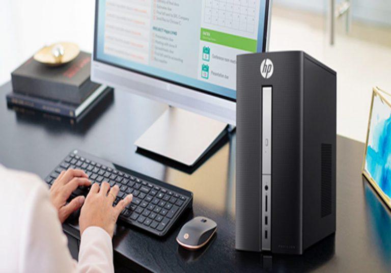 HP Pavilion 570 - Máy tính bàn tiết kiệm năng lượng cho doanh nghiệp