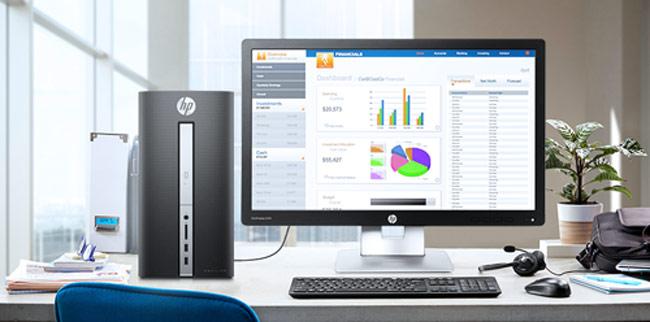 HP Pavilion 570 trang bị đầy đủ các cổng kết nối, cho khả năng truyền dữ liệu không giới hạn