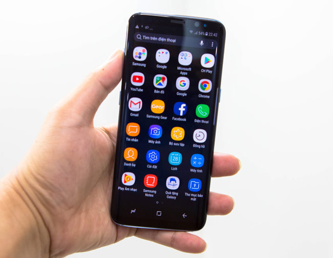 Galaxy S8 chạy Android 7 với giao diện TouchWiz