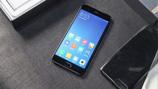 mở hộp Xiaomi Mi 6